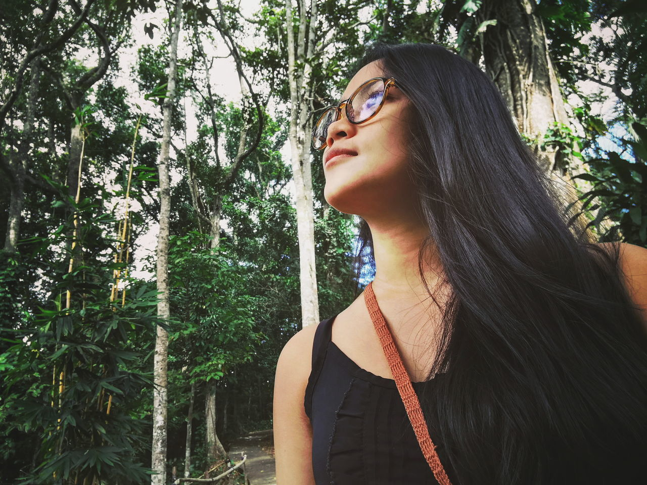 Beauty Beautiful Woman Close-up Naturelovers Trees And Sky Outdoor Beauty