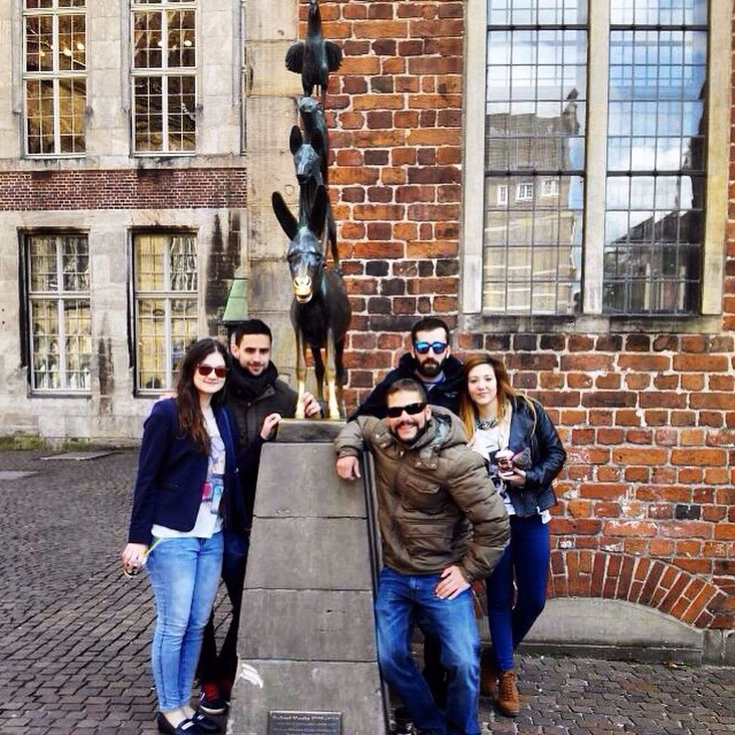 Bremen Deutschland Bremenmusicians бременские музыканты Friends Spanish Germany