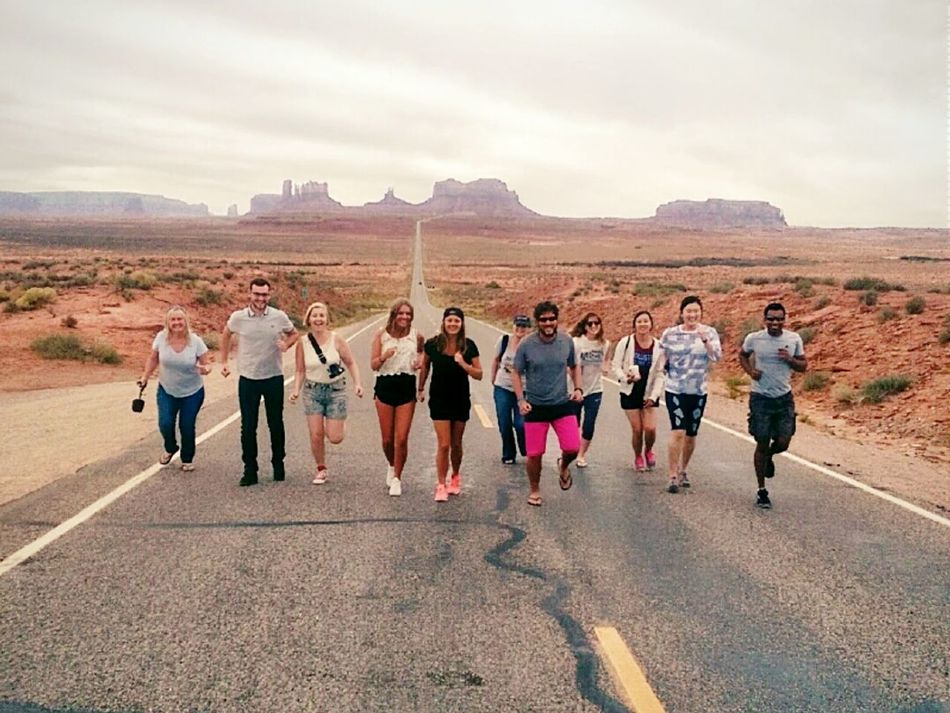 run like Forest Gump United States Nevada Navajo Monument Valley Travel Adventure Running USA Friends