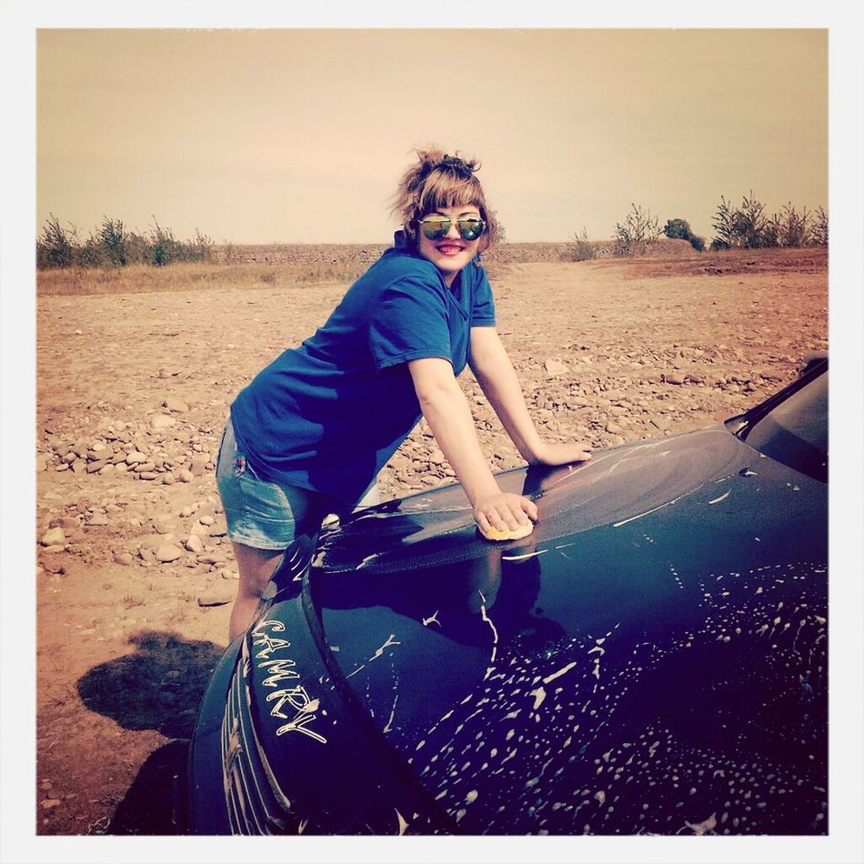 Моем машину