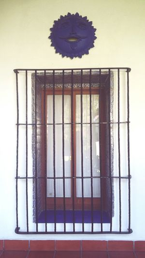 Cage Birdcage Security Bar Indoors  Law No People Metal Grate Confined Space Day Close-up Museo Dolores La Noria Mexico City Window The Week On EyeEm Sunday Morning