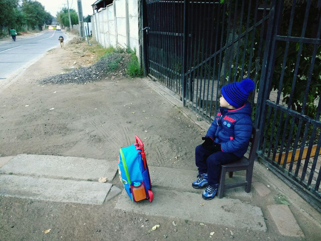 Esperando al Tio 🤗 Marcelo Perez