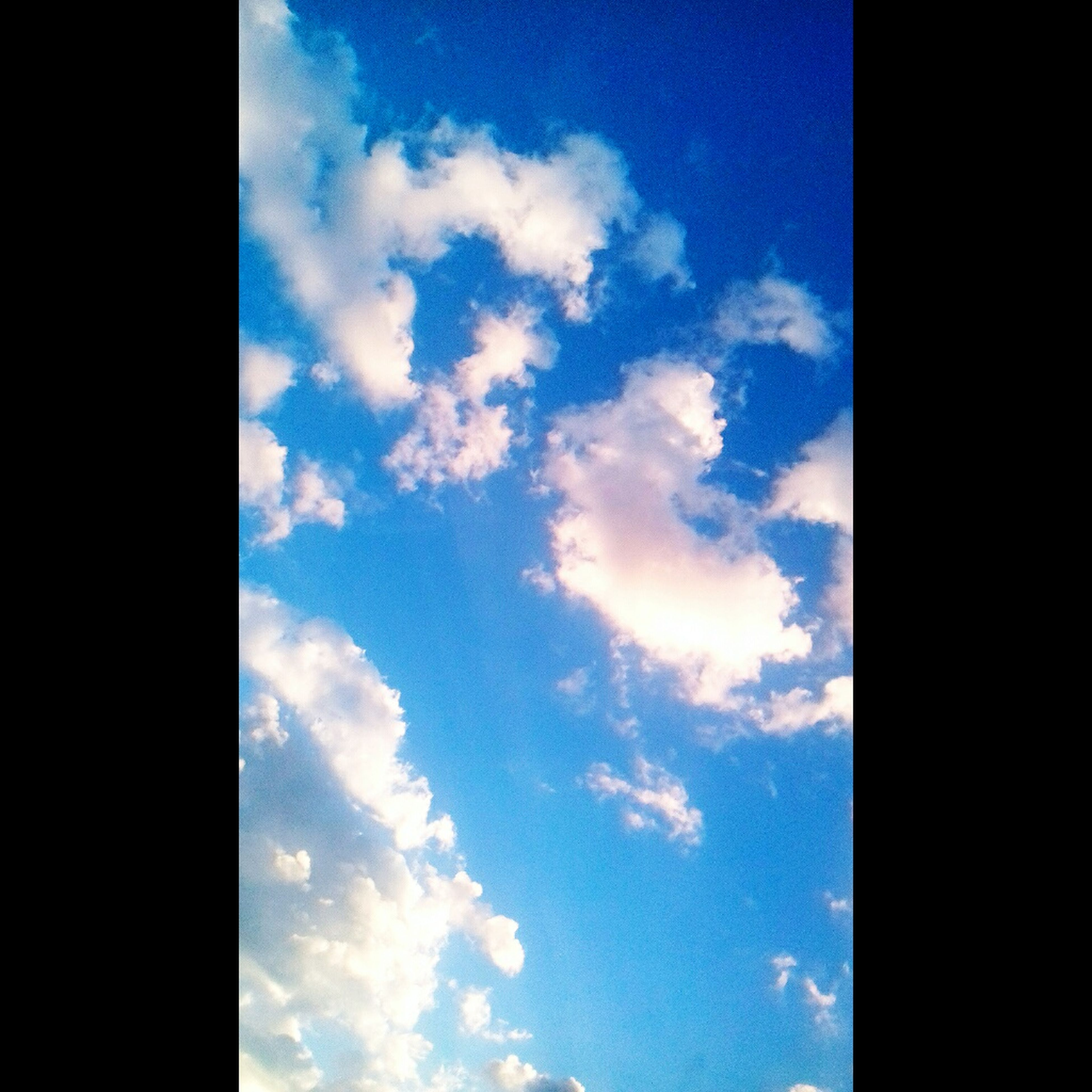 sky, cloud - sky, low angle view, no people, day, blue, nature, beauty in nature, backgrounds, outdoors
