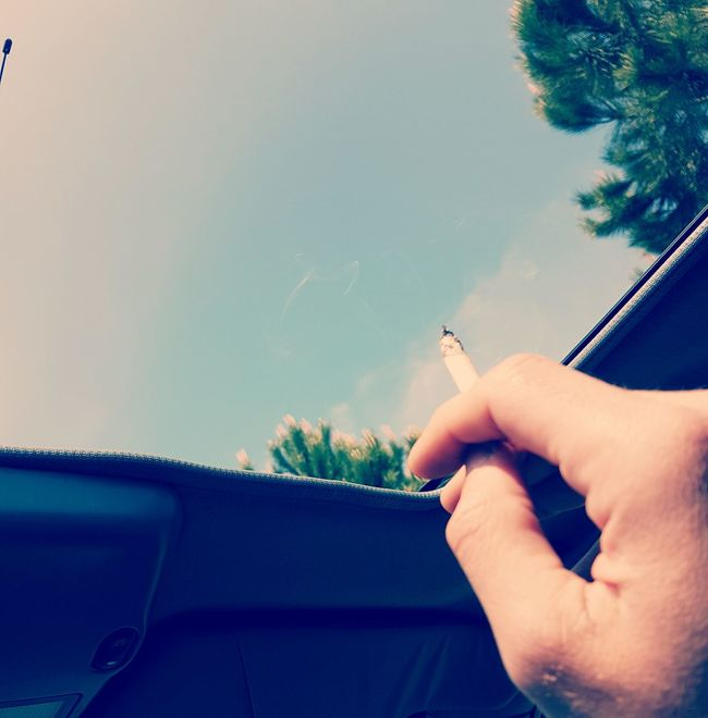 SPAIN Lloretdemar Hangover Cigarette  Inthecar Sunnyday Feeling Sick Free
