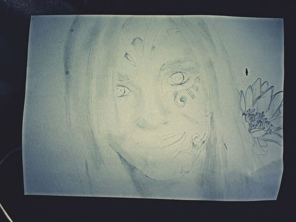 Deemster visions on her face Drawing Hallucinations Art My Drawing
