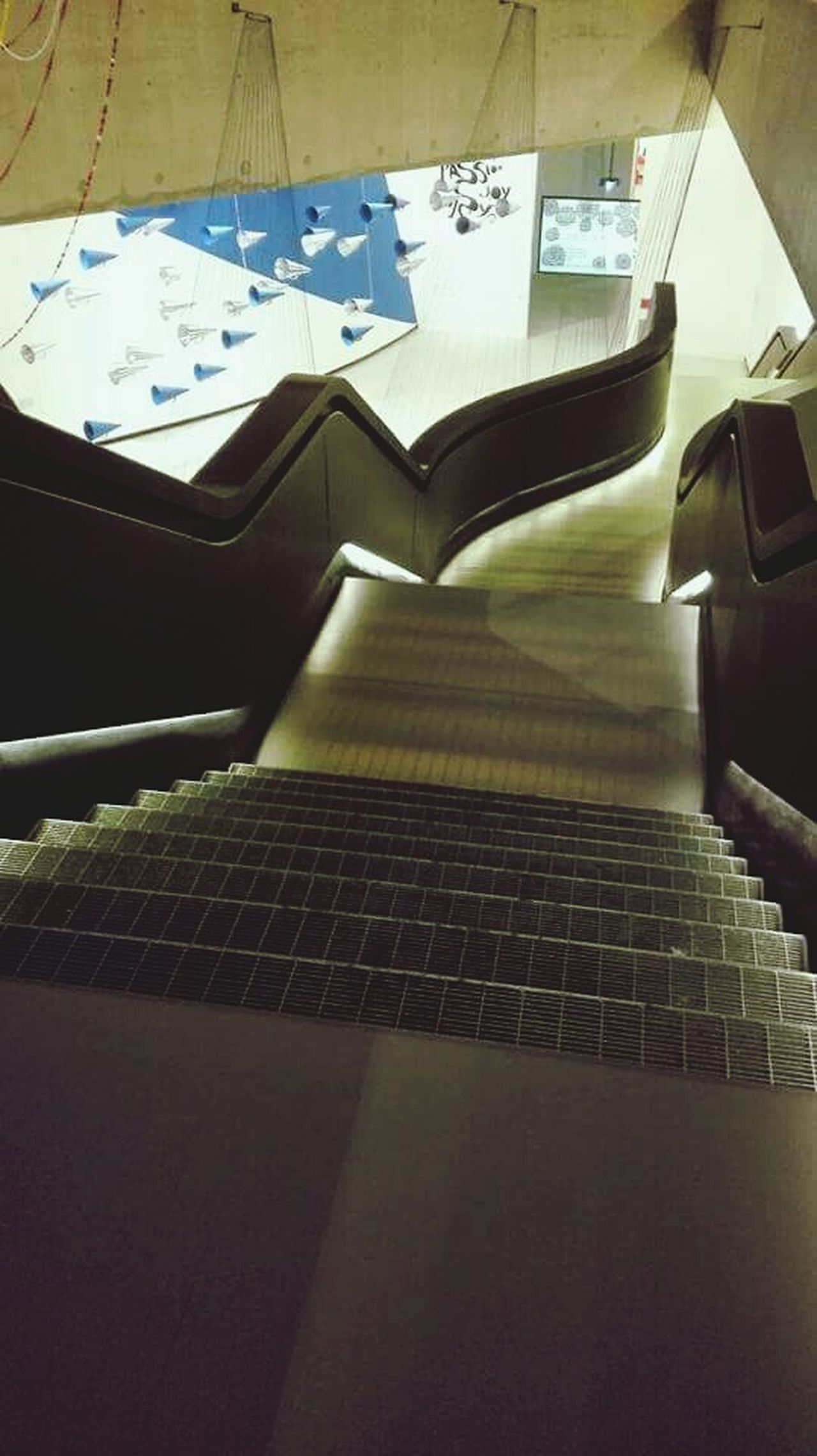 Zaha Hadid Zaha Hadid's Project MAXXI MAXXI Roma Roma Italy Museum Museum Of Modern Art Woman Who Inspire You Art Waves Lines And Shapes Stairs Minimalism Concept Silence Architecture Architectural Feature Contemporary Art Inside Design Electric Light ArtWork