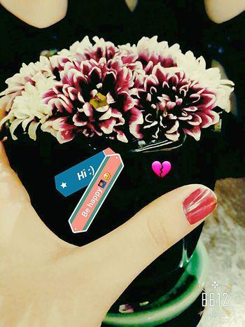 Iran. Flowers Hand Nailpolish Behappy:) Firts Eyeem Photo Happy Heart Drinking Coffee Don't Worry Be Happy