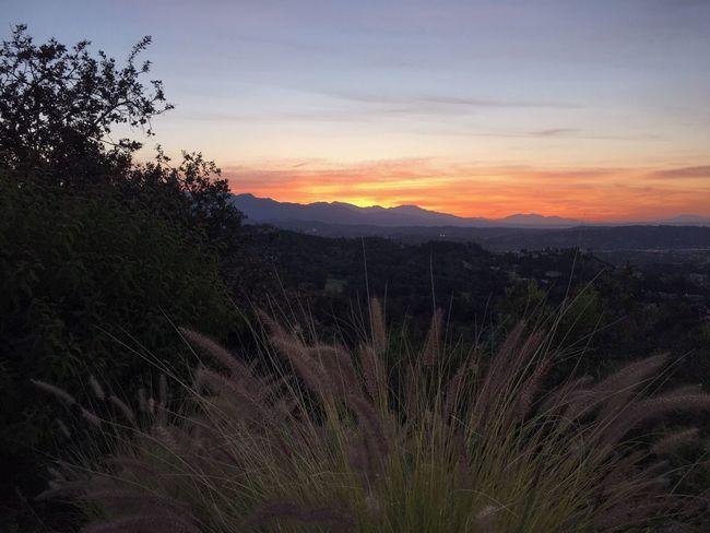 Sunrise Mountains Los Angeles, California
