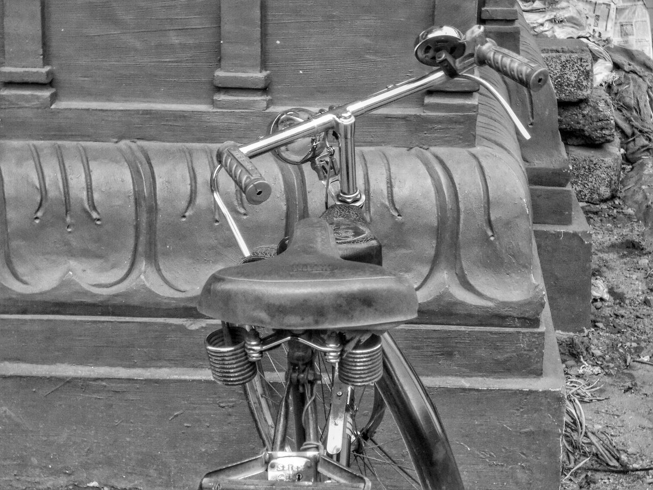 Bicycle Vintage Bicycle Puttur EyeEmBestPics Pic Of The Day Eyeemphotography Nikonl330 EyeEm Best Shots EyeEm Gallery Eyeem India India Karnataka Streetphotography Street Photography Showcase April Street Life Blackandwhite Photography Black And White Photography Black&white Black & White Blackandwhite Streetphoto_bw EyeEm Best Shots - Black + White