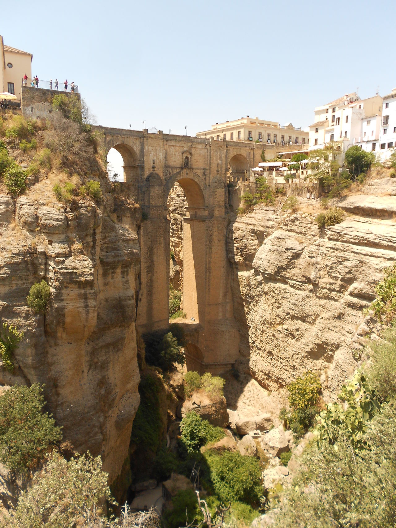 History Architecture Sunlight Travel Destinations Outdoors Ronda Spain Tranquility Calm Tranquil Scene Architecture_collection