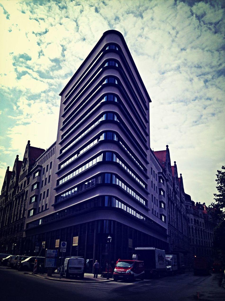 Awesome Architecture near Thomaskirche Leipzig