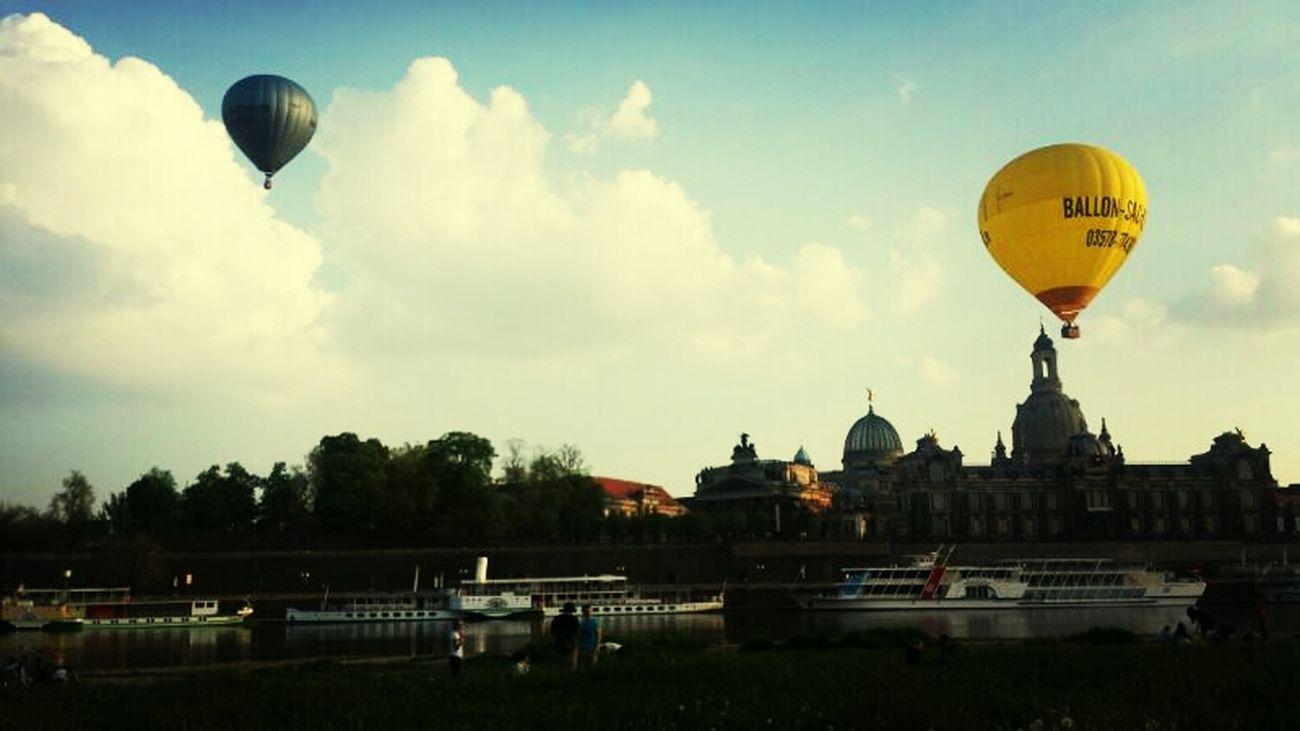 Chillo Ballon Abhängo Dresden #brühlscheterassen