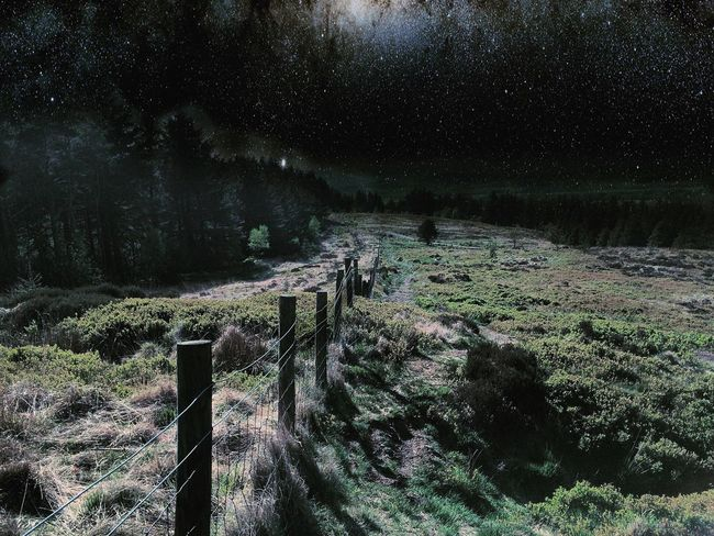 Check This Out top of Beaconfell at Night Nightphotography Stars and Moonlight