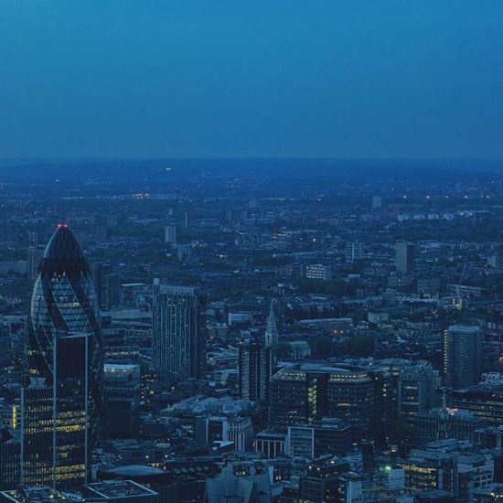 Aerial Shot London LONDON❤ View From The Shard The Shard Seeing The Sights Landscapes With WhiteWall