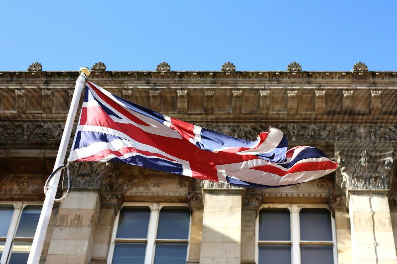 Beautiful stock photos of patriotic, Architecture, British Flag, Building, Building Exterior