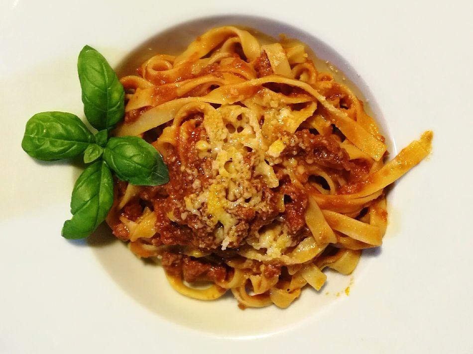 Food Italian Food Spaghetti Bolognese Pasta Italiana Mediterranean Food Freshness Healthy Eating