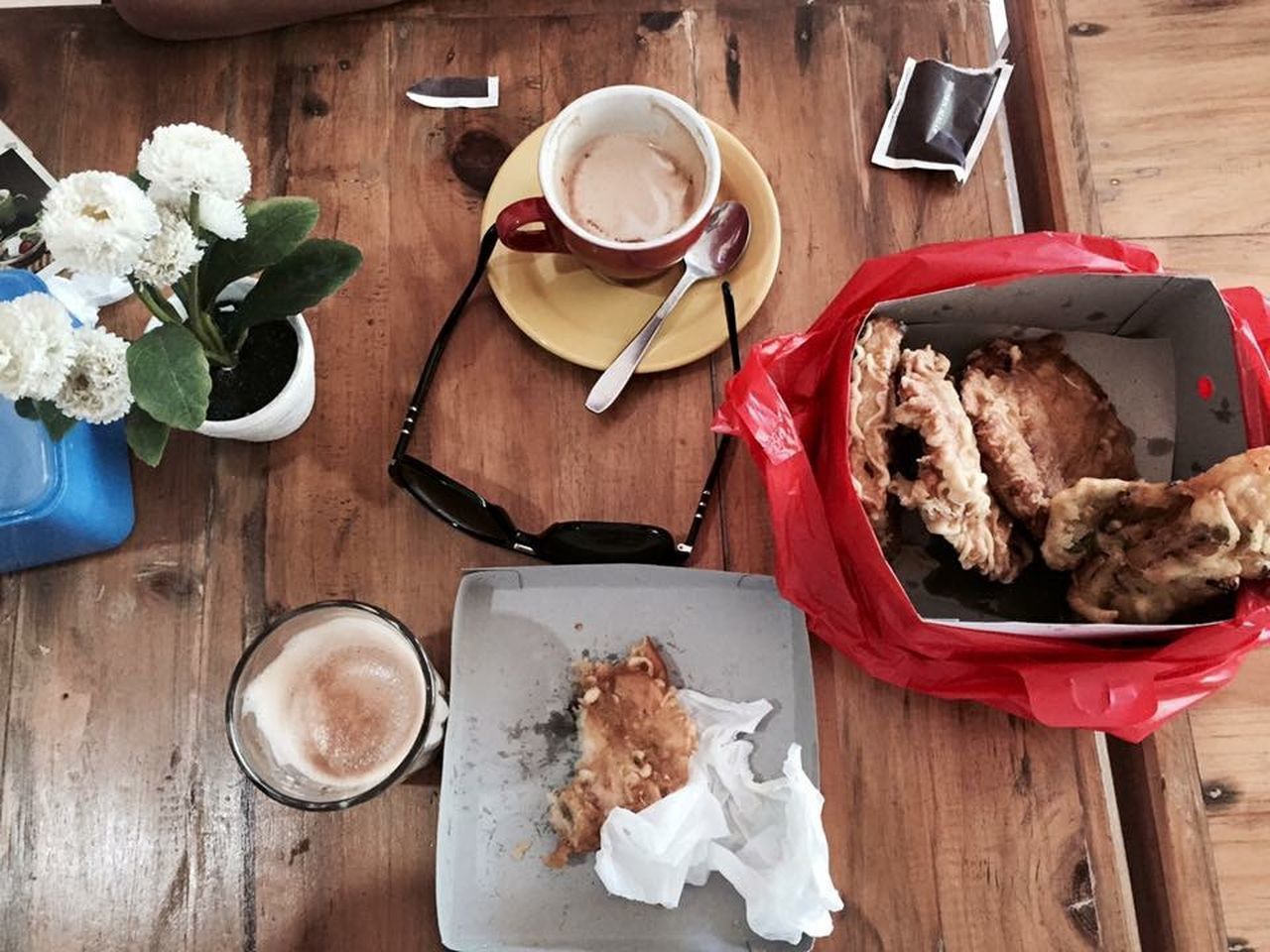 Time For Breakfast  Coffiee Time Pisanggoreng
