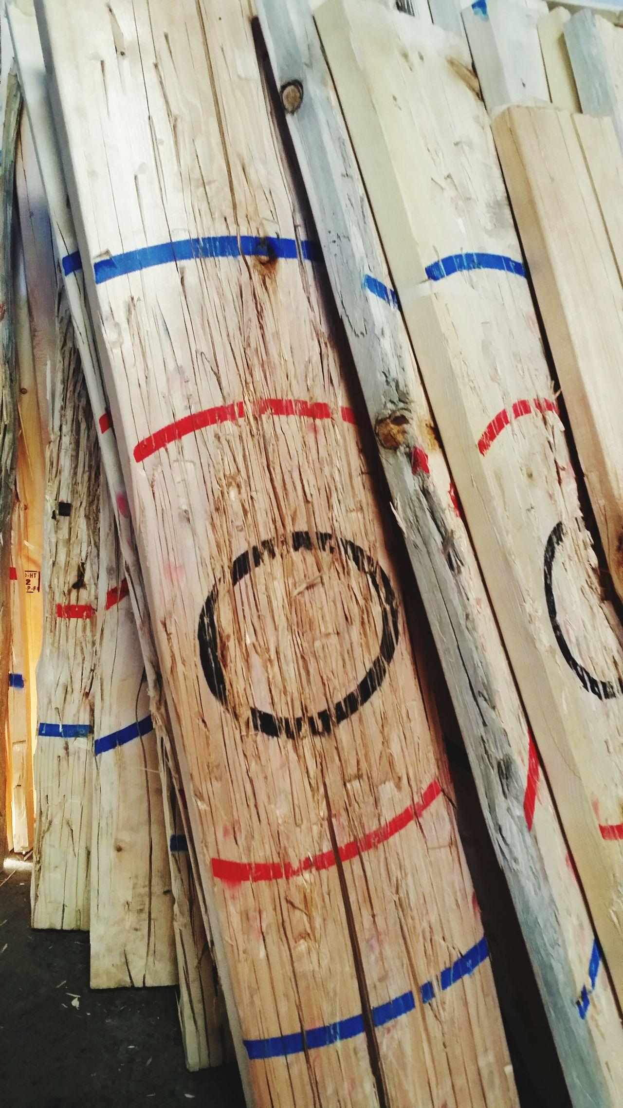 Bang On Target Bullseye Target Axe Throwing Splinter Wood