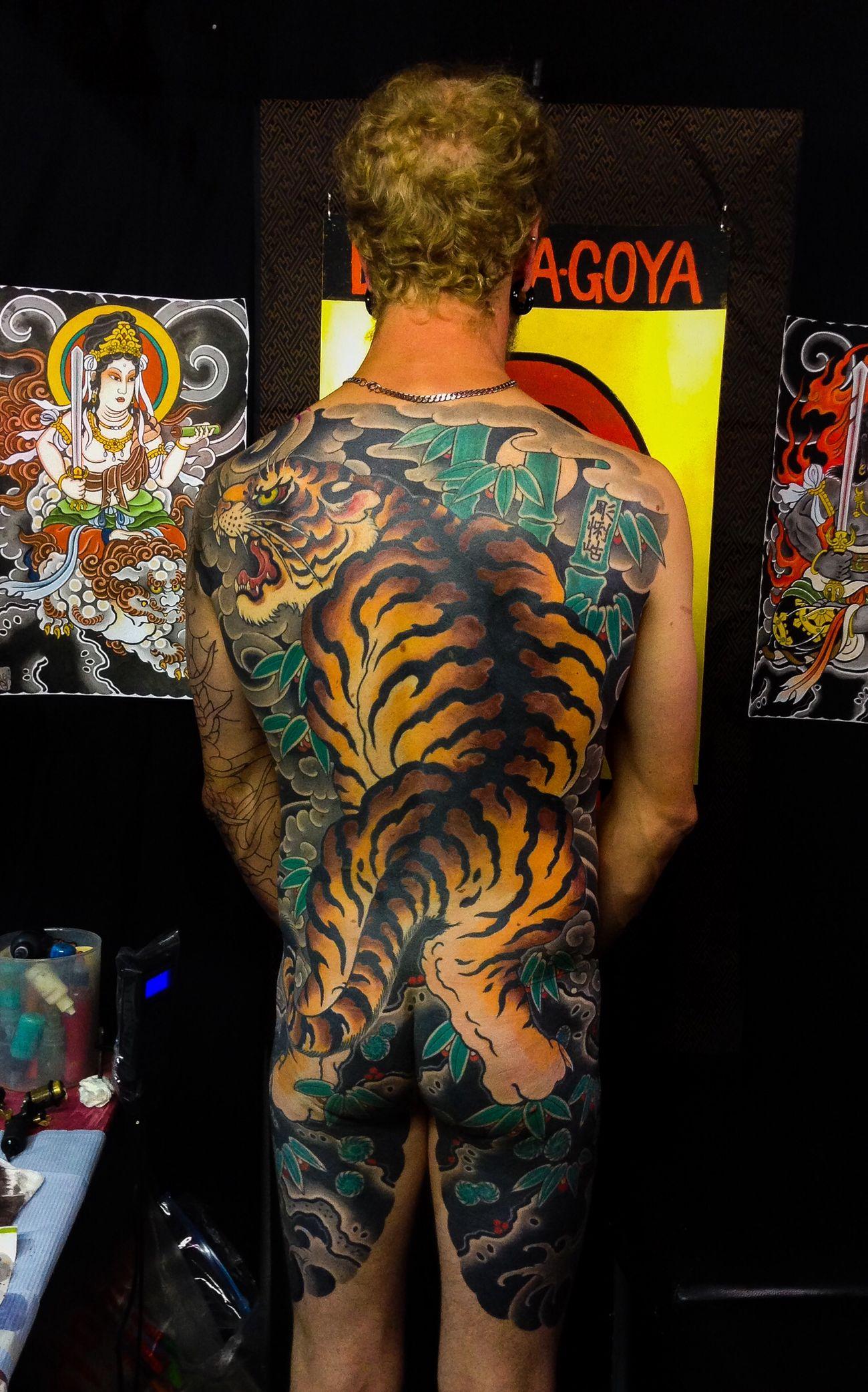 Brother's Tattoo Daruma Goya