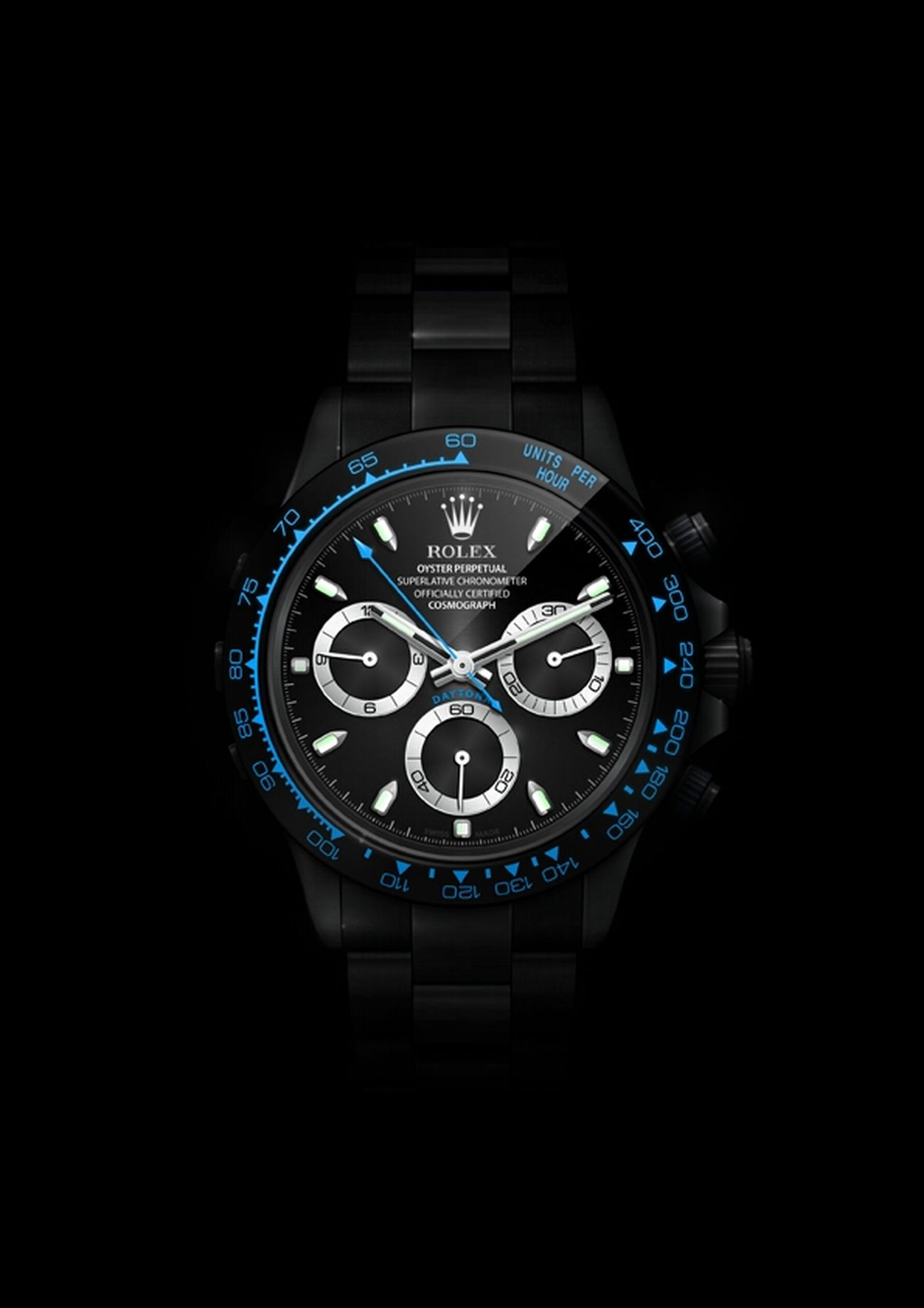Watch Rolex Daytona BlackPearl - Digital Rolex Daytona BlackPearl