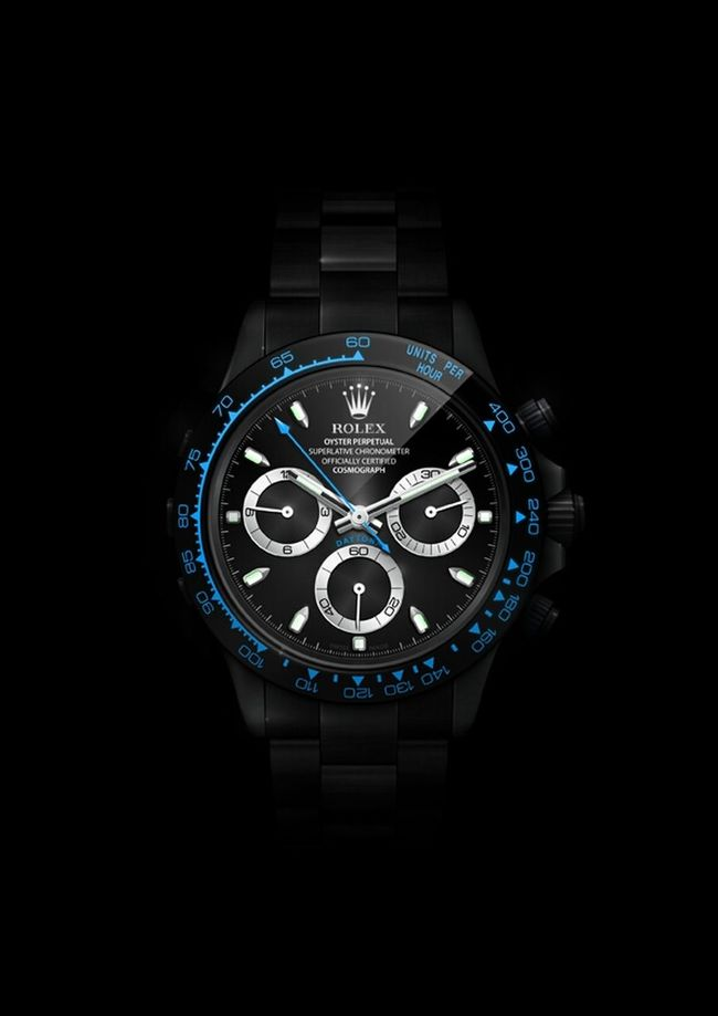 Watch Rolex Daytona BlackPearl - Digital Rolex Daytona BlackPearl