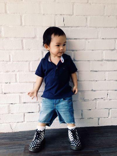 Nathanaeltj Ootd Drmartens baby shoe