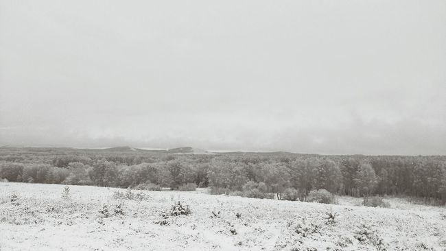 зима на подходе... горный