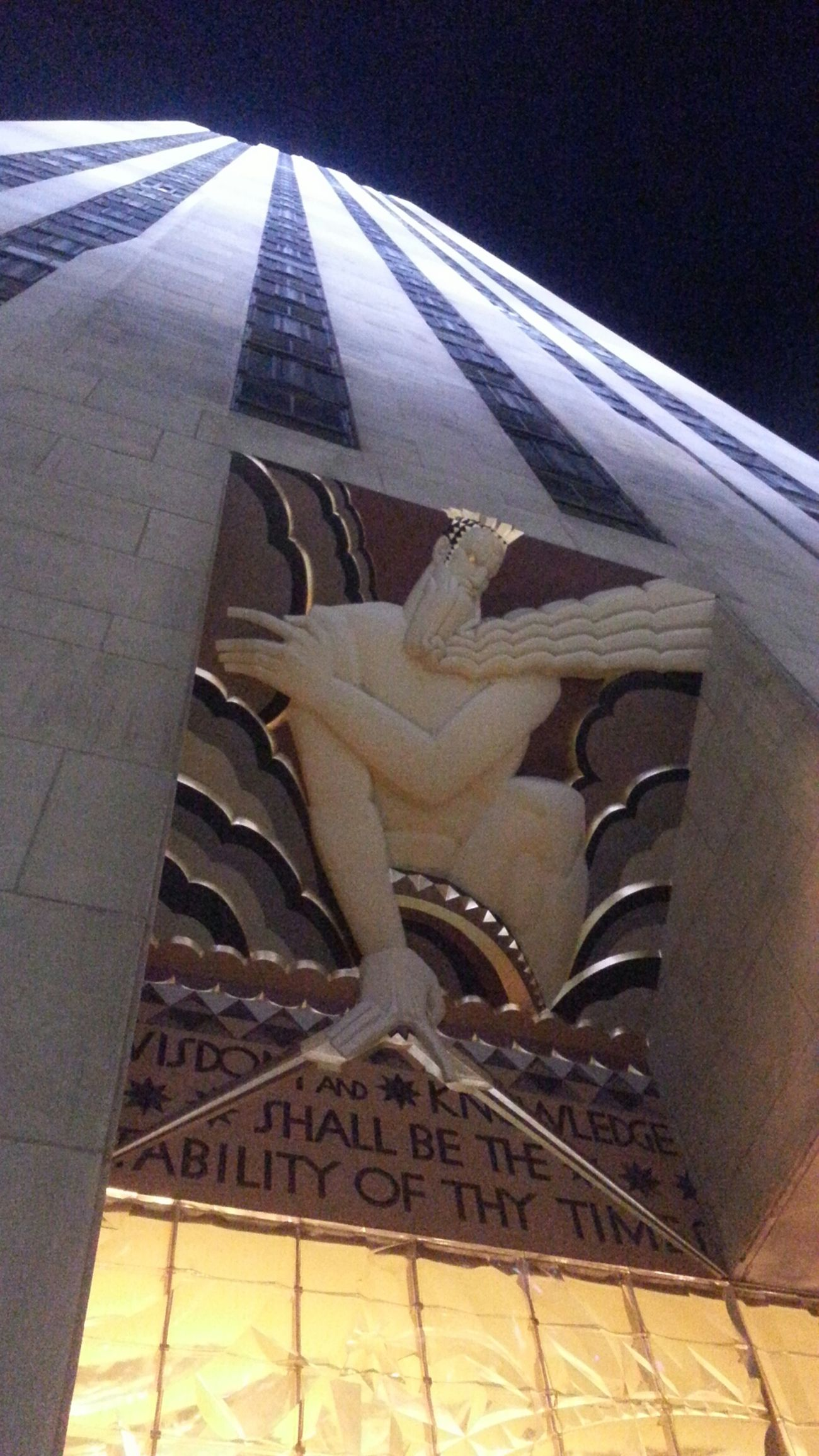 Art Deco Architecture New York City Rockefeller Center Espectacular