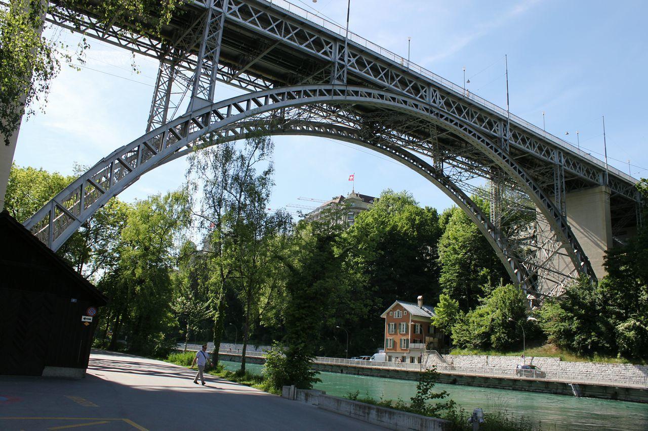 Bridge - Man Made Structure Bridge Over Water Bridge River Arch Bridge Bern, Switzerland HJB Switzerland Old Town