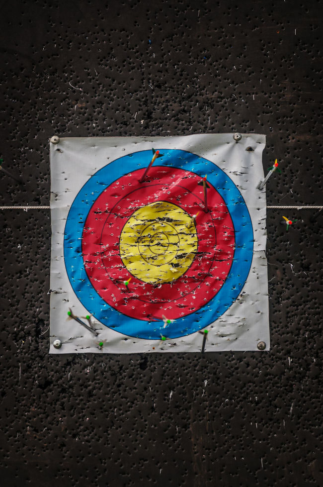 Find the target Multi Colored Geometric Shape Circle Creativity The Color Of Sport Sports Photography Eye4photography  Vibrant Color EyeEm Gallery Eye4photography  Taking Photos Check This Out Symbol