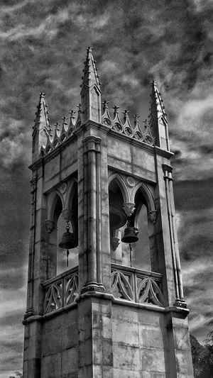 Arquitecture Blackandwhite Dramatic Sky Gossphotography Bells Religion