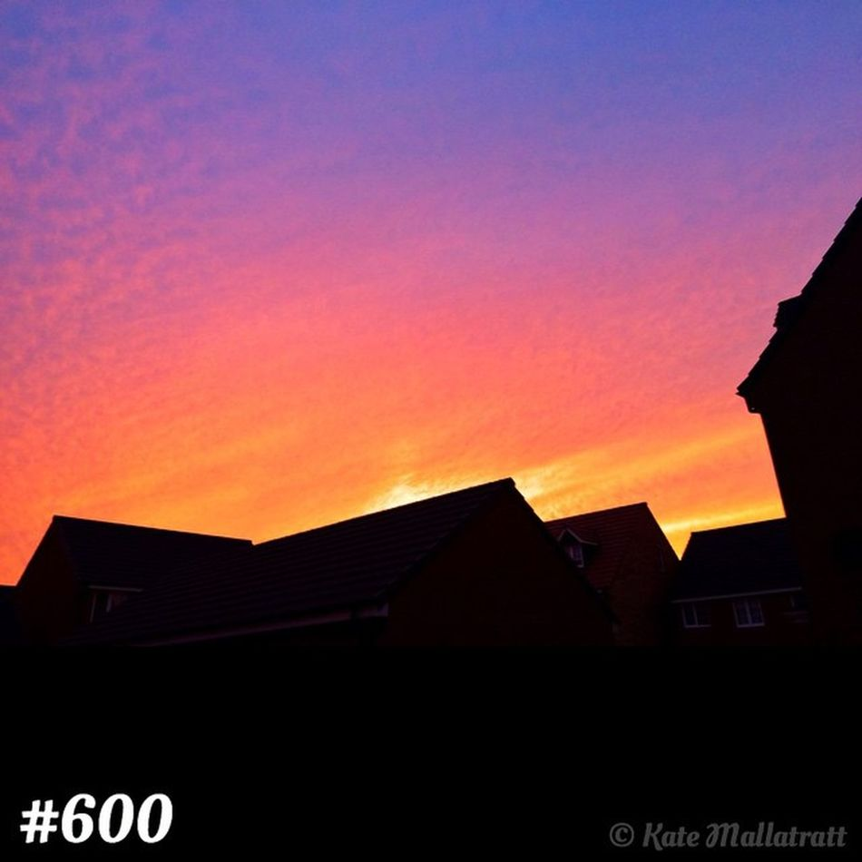 Post 600 Sunset October K8marieuk Katemariephotographyuk Sunshine Iphone5s Photooftheday Phonto Cameraplus Beautiful Landscape Skylovers Skypainters Sky Skysnappers Cloudporn Skyporn