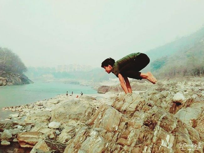 Battle Of The Cities Water Scenics Full Length Beauty In Nature Nature Tourism Young Adult Non-urban Scene Outdoors Lifestyles Yoga Pose Yoga ॐ Yogaeverydamnday Yogachallenge Yogateacher Yogainspiration Yogalover First Eyeem Photo