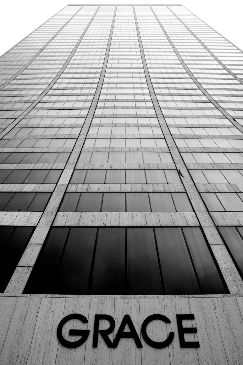 Grace Building in Manhattan Architecture Black And White Building Exterior Endlessness Façade Grace Building  Infinity Looking Up Low Angle View Manhattan Modern Monochrome Photography New York New York City Skyscraper Text Timeless Up Upward View
