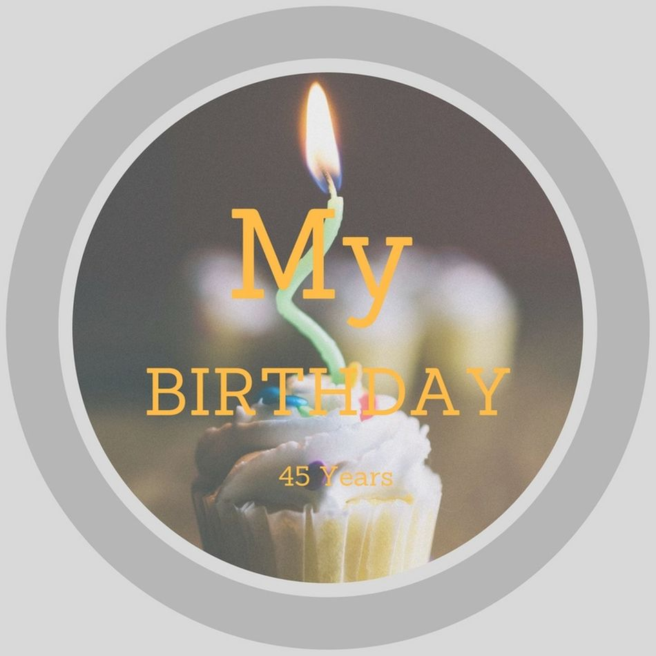 Hello my friends and community I want to share today is my 45th birthday I still feel like a kid 45 Years Old Birthday Birthdays My Birthday