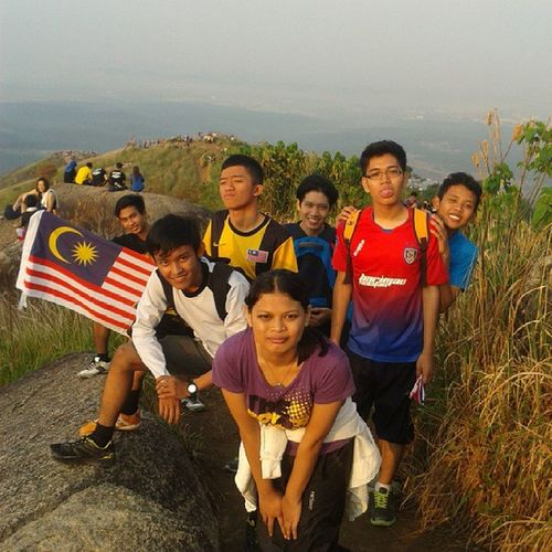 Currently at the top of the world Bukit Broga N9