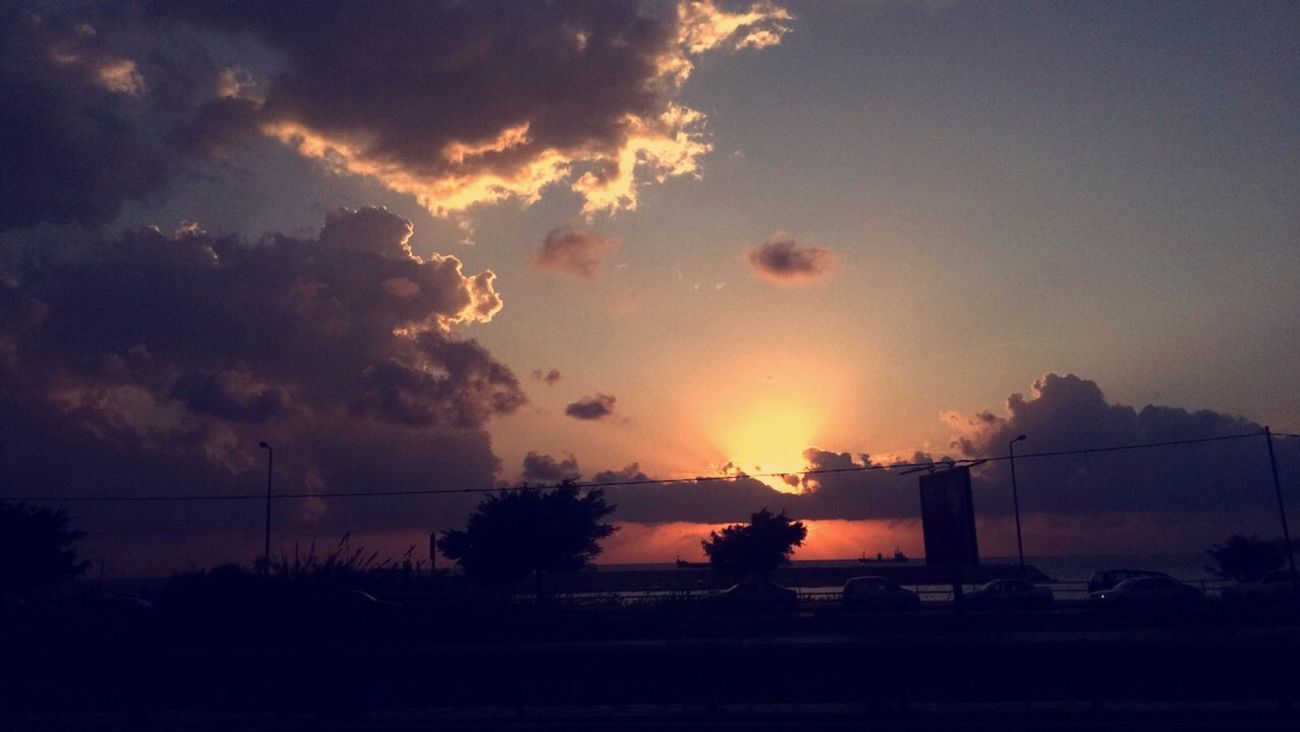 Lebanon In Photos Beirut Rawshe Street Photography Snapchat Camera IPhone Nature Sunset