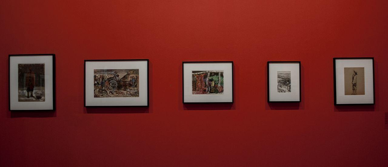 Red Indoors  Art Art Gallery Museum Of Modern Art Museum