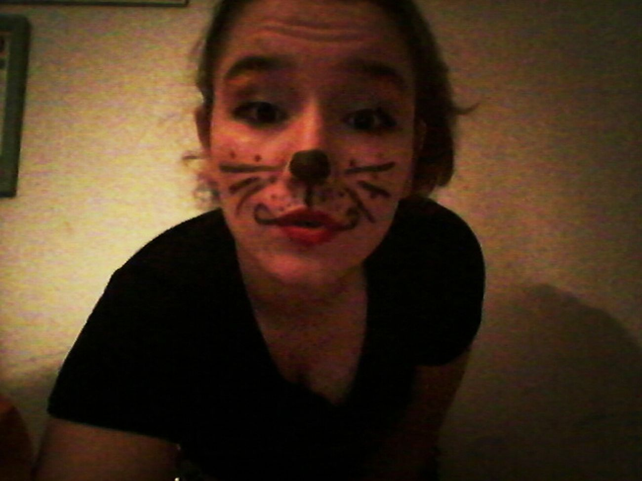 :3 kiss Crazy Cat♡ Stupid Girl Hello World