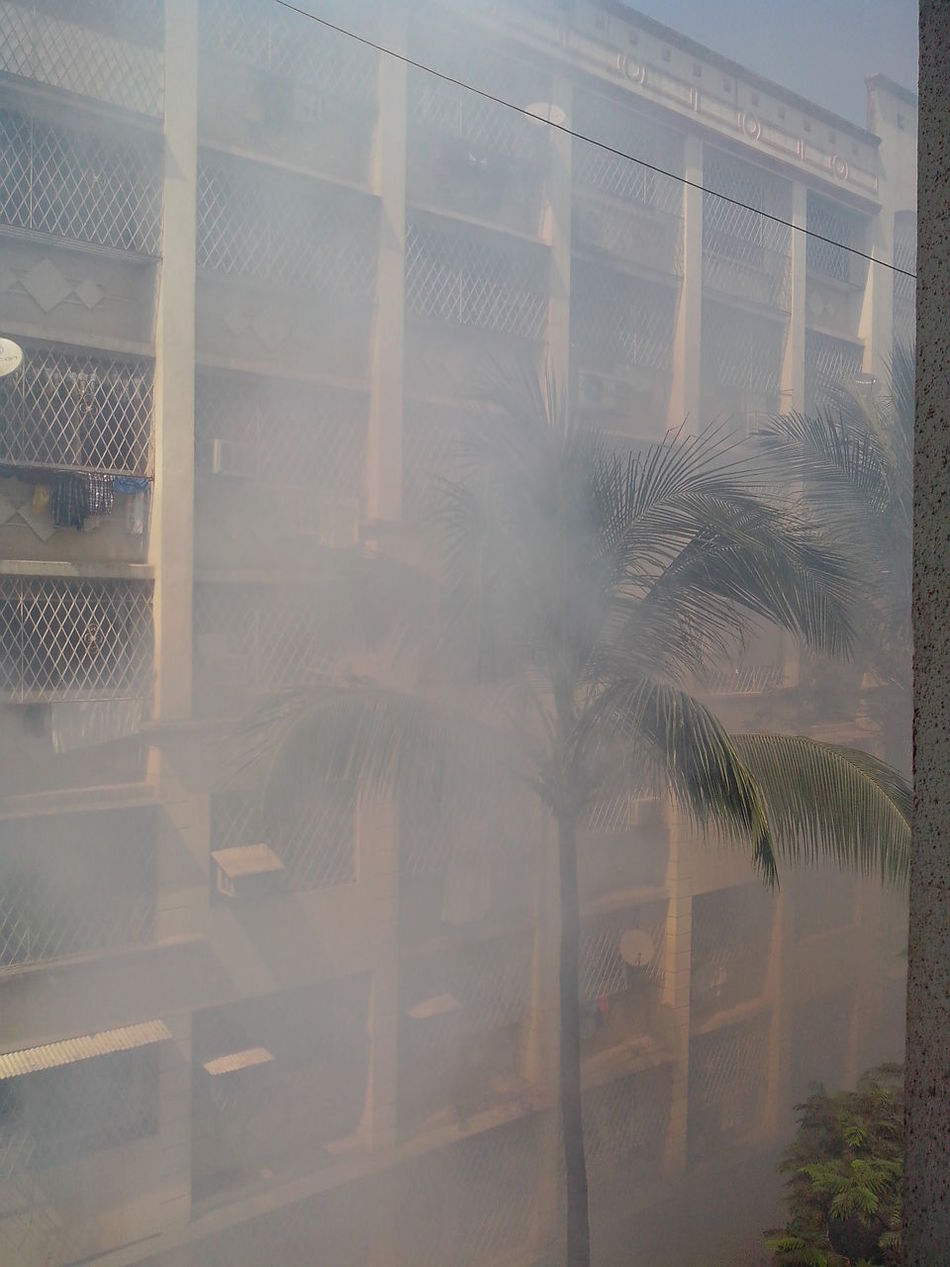 Beautiful stock photos of smoke, Apartment, Architecture, Borivli, Building Exterior