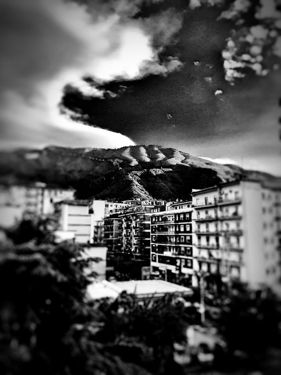 God's hand on the monte Faito Sky Nature Outdoors No People Tilt-shift Mountains And Clouds Natural Shapes