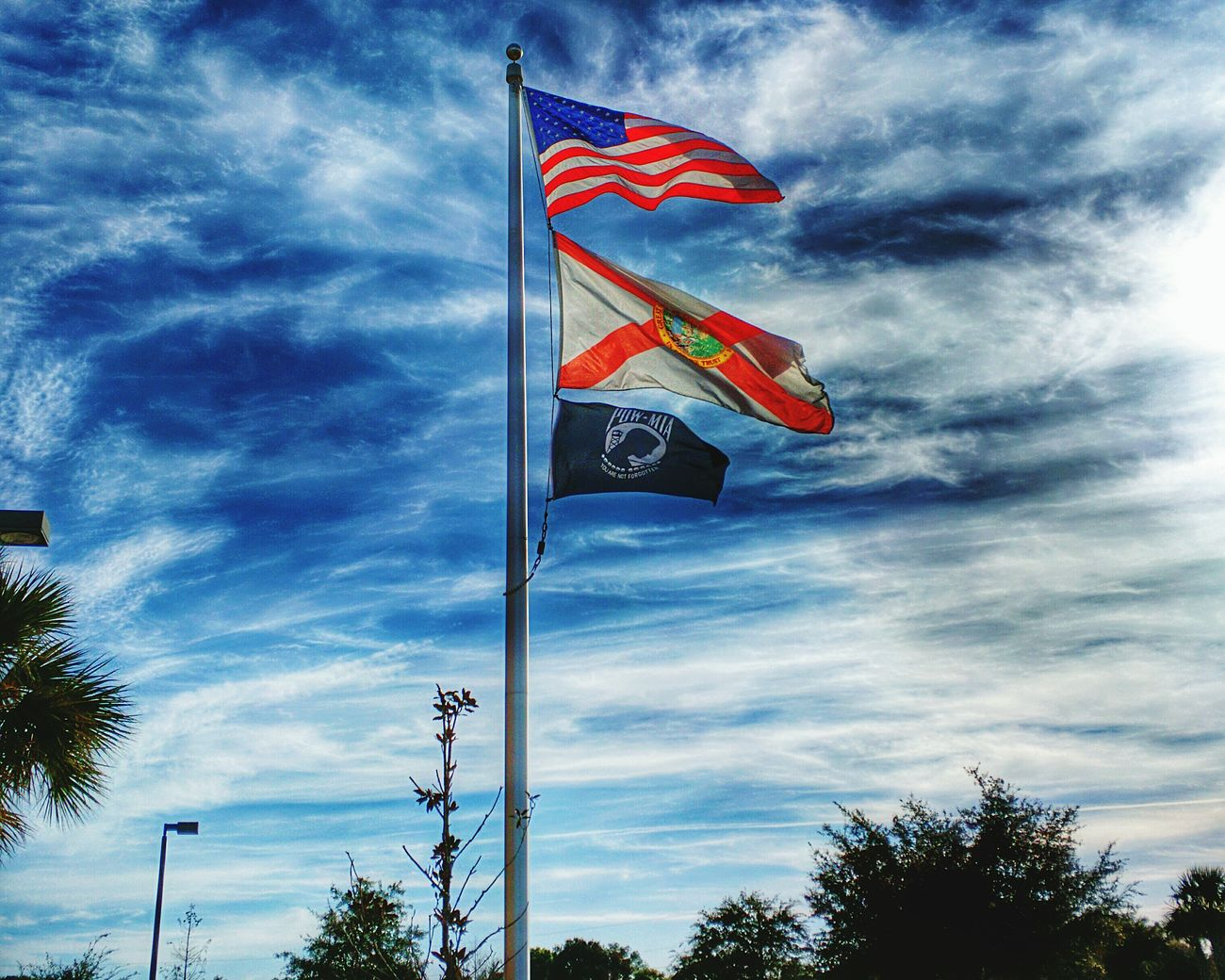 AndroidPhotography Moto New Found Beauty .. Nexus6 Cam :) Nexus6 HDR Hdr Edit American Flag Florida Powmia