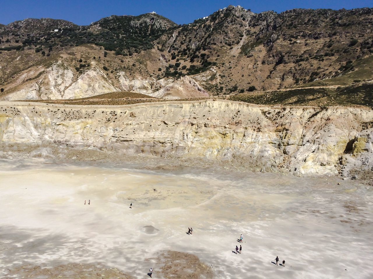 Crater, Nisos Nisiros Nisiro Nisiros Greece Greece Dodecanese Aegean Volcano Crater Volcanic  Volcanic Landscape Holidays Traveling Travelling Travel Trip Voyage Island Tourism Tourists Tourist Attraction
