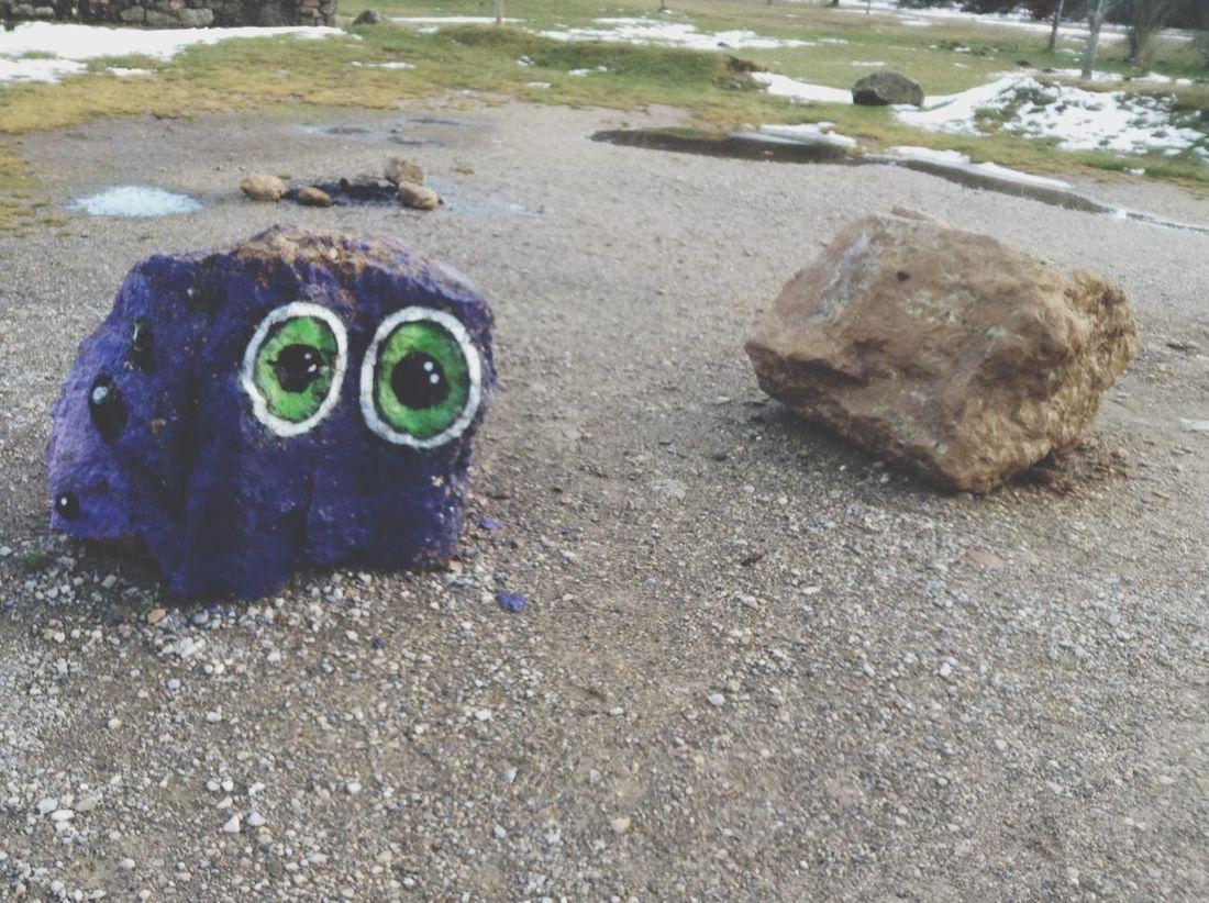 Streetart Monster Nature Colorful ?