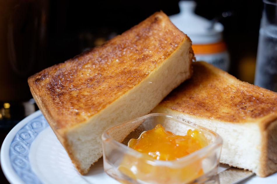 トースト/Toast Bread Cafe Food Foodporn Fujifilm Fujifilm X-E2 Fujifilm_xseries Japan Japan Photography Toast Tokyo トースト ばん 三越 喫茶店 宮越屋珈琲 東京