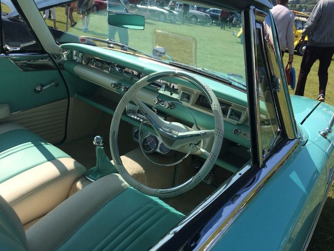 Ford Capri Boat Deck Car Car Interior Close-up Dashboard Day Driving Ford Corsair Horizontal Land Vehicle Luxury Mode Of Transport No People Outdoors Steering Wheel Transportation Vehicle Interior Yachting