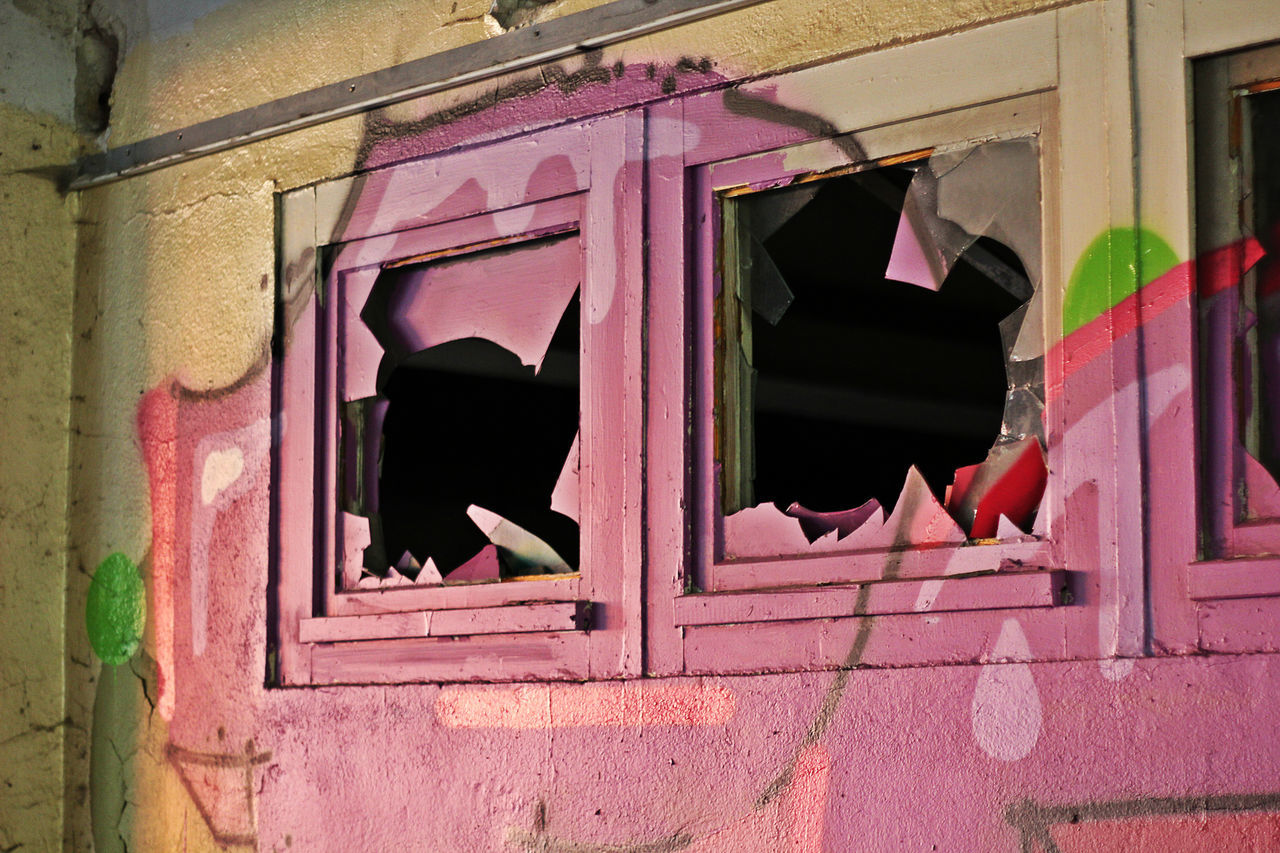 window, architecture, building exterior, abandoned, built structure, outdoors, destruction, no people, desolate, day