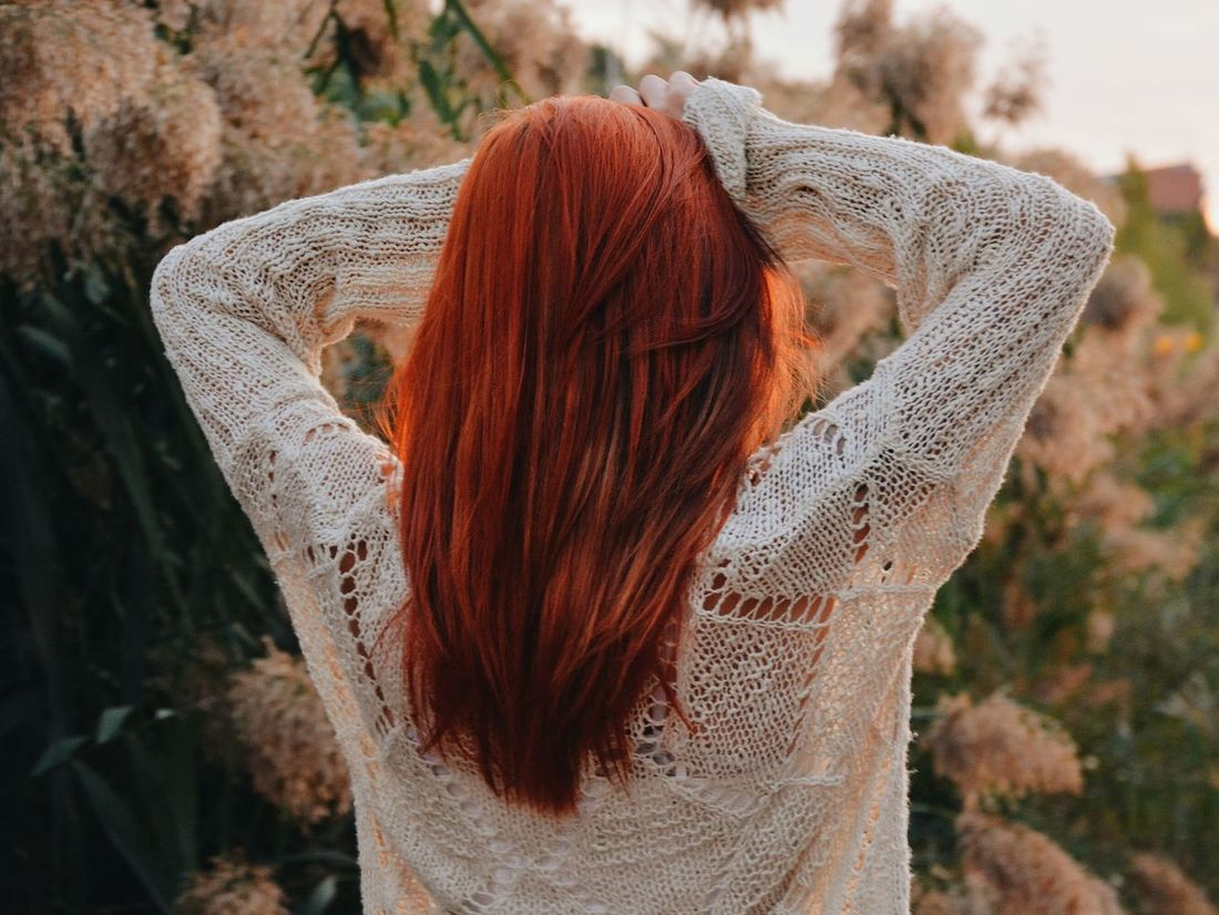 People And Places Outdoors Focus On Foreground Red Nature Mountain Portrait Peace Colorful Essence Redhead Beauty Ginger Wanderlust Goodvibes Beautiful Femininity Bohemian Beauty In Nature AgentOrange Long Hair Hairstyle Happiness Naturelovers Campvibes