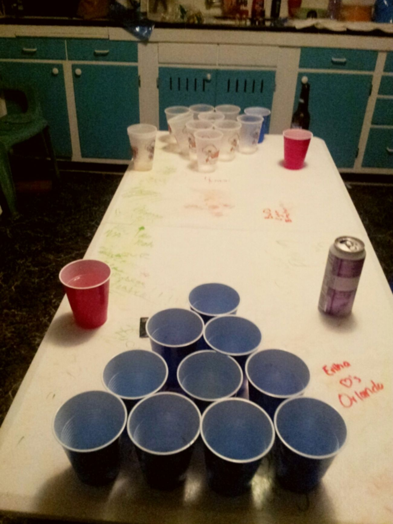 Last Night #BearPong #FunTime