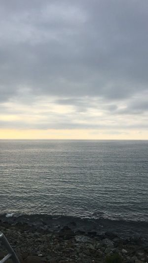 Sea Water Horizon Over Water Nature Tranquility Tranquil Scene Scenics Sky Beauty In Nature No People Outdoors Day